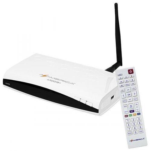 Receptor Azamerica S1009 + Plus / WI-FI / IKS-SKS-IPTV / ACM