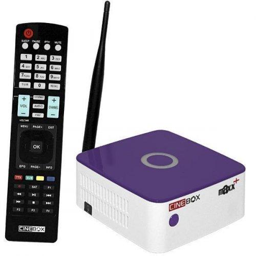 Receptor Cinebox Fantasia Maxx+ Plus ISDBT/Wi Fi IPTV IKS SKS