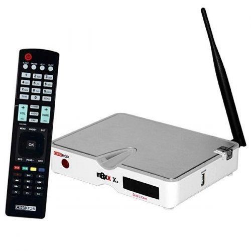 Receptor Cinebox Fantasia Maxx X2 / Wi Fi / Óculos 3D / IKS SKS IPTV - ACM