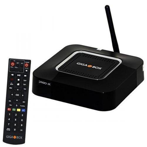 Receptor Gigabox Droid 4K - Wi-Fi / IKS-SKS-IPTV - ACM