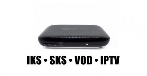 Receptor Gosat Pro HD - WI-FI / IKS-SKS-IPTV / ACM