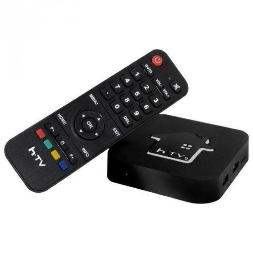 Receptor HTV 5 TV Box IPTV+Android+Wi-Fi - (Sem Antenas)