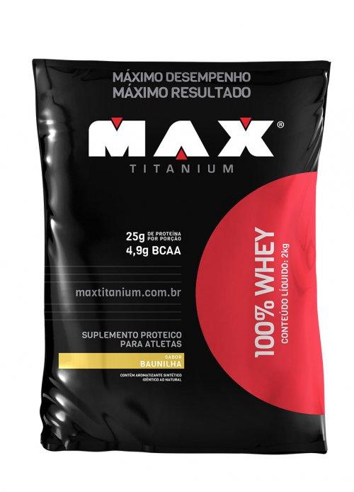 100%  Whey 2kg Max Titanium