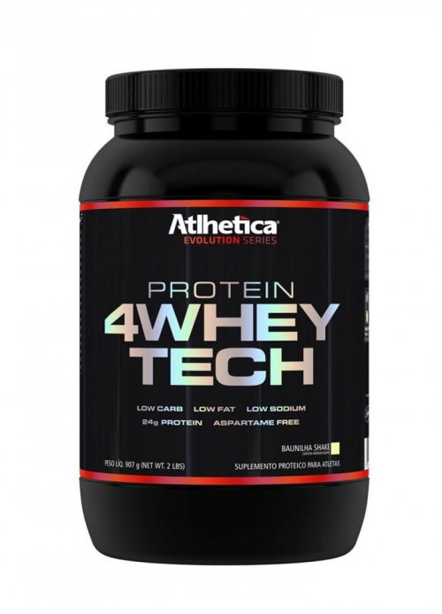 Protein 4 Whey Tech (900g) Atlhetica