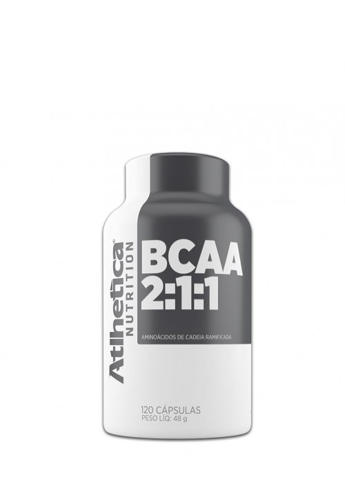 BCAA 120 cáps - Atlhética