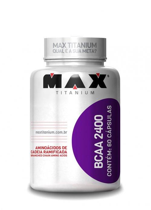 BCAA 2400 - 60 Cápsulas Max Titanium