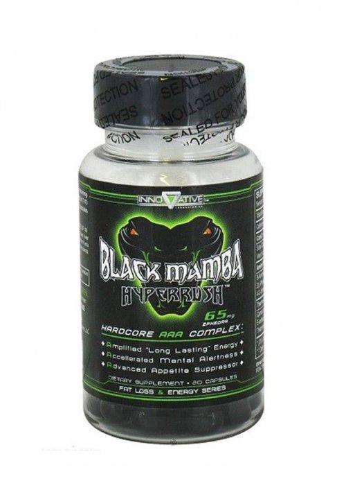 Black Mamba Hyperrush 65mg  - 90 caps