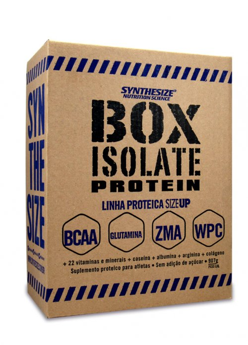 Box Isolate Protein (907g) BCAA + Glutamina + ZMA + WPC