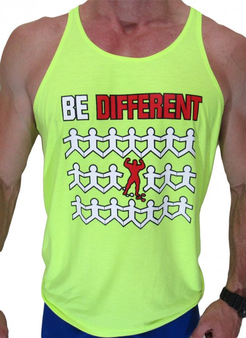 Camiseta Regata - BE DIFFERENT b772d9c4853