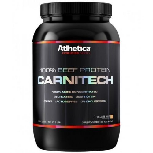 100% Beef Protein Carnitech  - 900g  evolution Séries