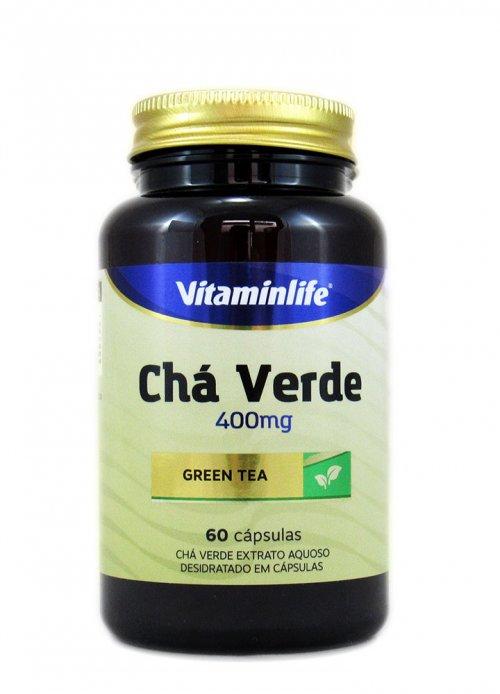 Chá Verde 400mg 60 capsulas Vitaminlife