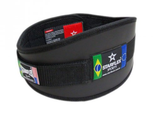 Cinturão Agachamento Musculação Starflex Sports