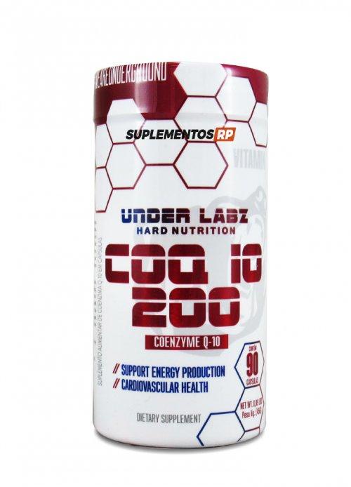 Coenzima Q10 - coq10 - 200mg - 90 Cáps - Importada