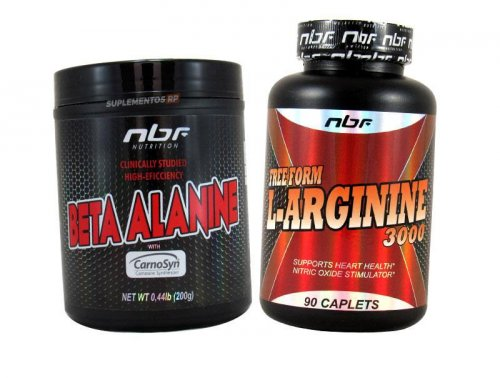 Combo Arginina + Beta Alanina importada