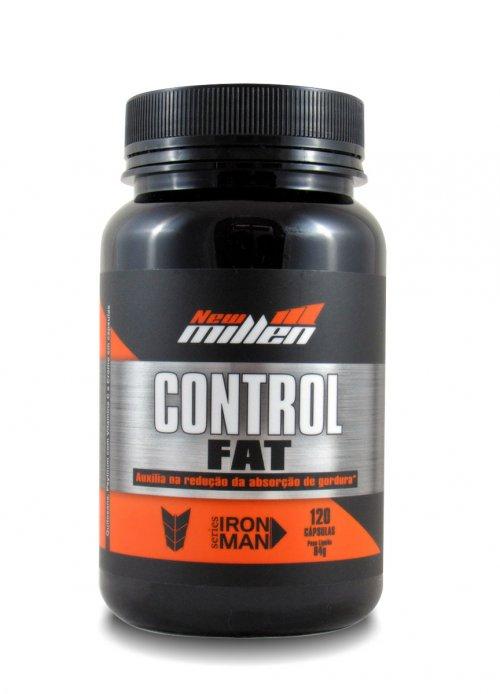 CONTROL FAT Inibidor de Apetite (120caps) New MIllen