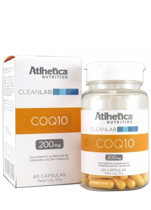 Coenzima Q10 - coq10 - 200mg - 60 Cápsulas - Atlhetica
