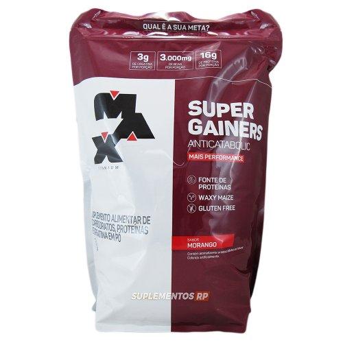 Super Gainers Anticatabolic - 3kg - Max Titanium