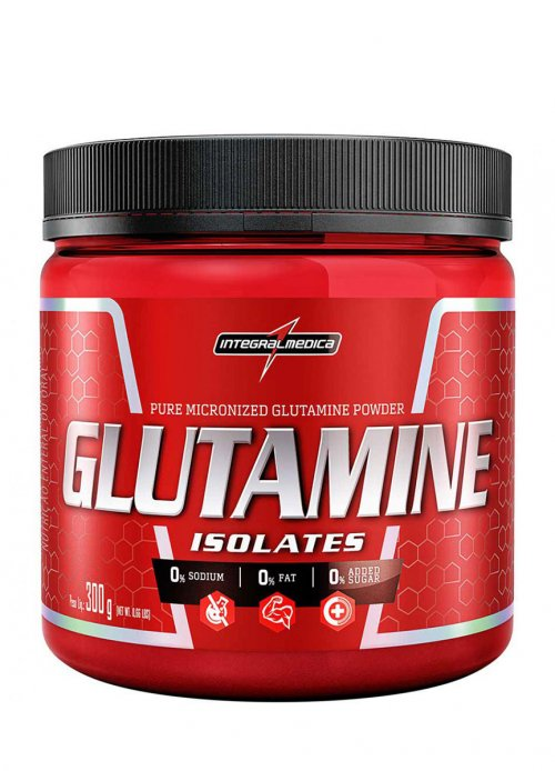 Glutamine isolates (300g) - integralmedica