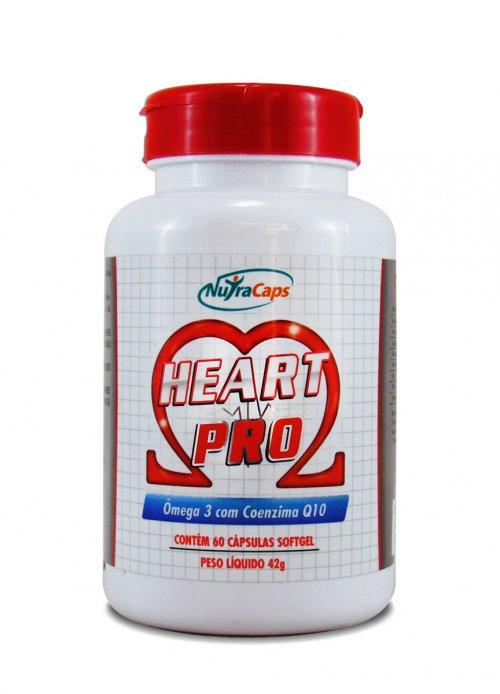 Hearth Pro Ômega 3 + Coenzima Q10 - 60 caps