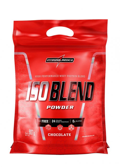 Iso Blend Zero Soja, Zero Glúten  (907g) - Integralmédica
