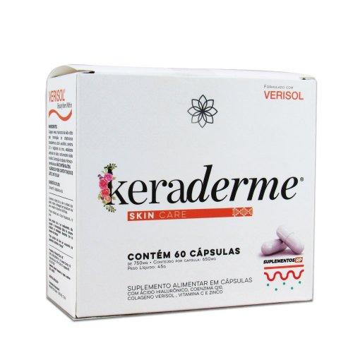 Keraderme Skin Care - Rejuvenescimento da Pele 60 cáps
