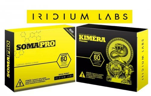 combo Definição Iridium  Soma Pro + Kimera