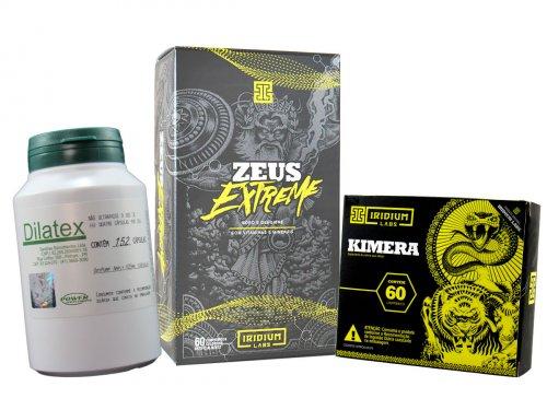 Kit Seco Grande Vascularizado Kimera + Dilatex + Zeus c/ Boro