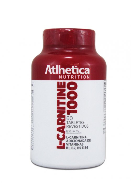 L- Carnitina 1000 - (60 tabs)- atlhetica evolution