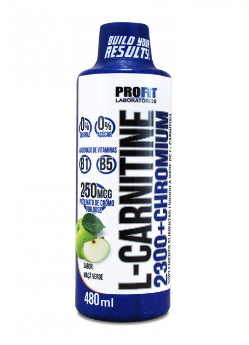 L Carnitina 2300mg + Picolinato de Cromo  250mcg
