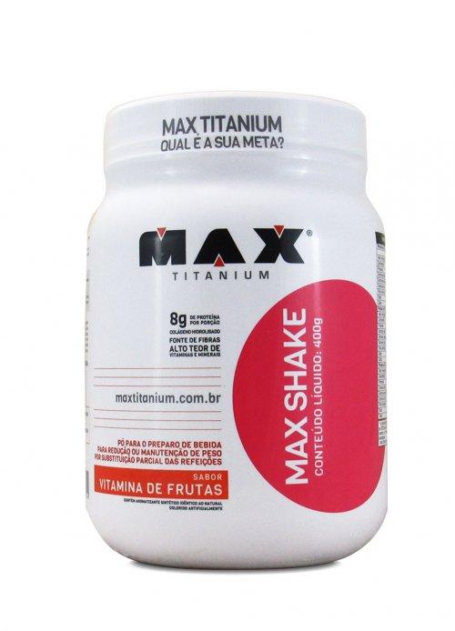Max Shake (400g) Substituto de Refeição