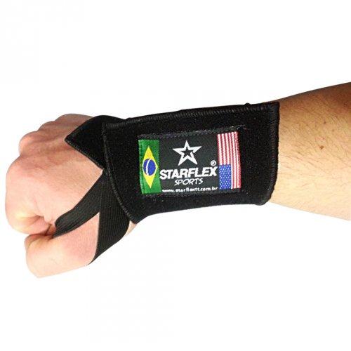 Munhequeira Reforçada Treino Crossfit Musculação (PAR) Profissional