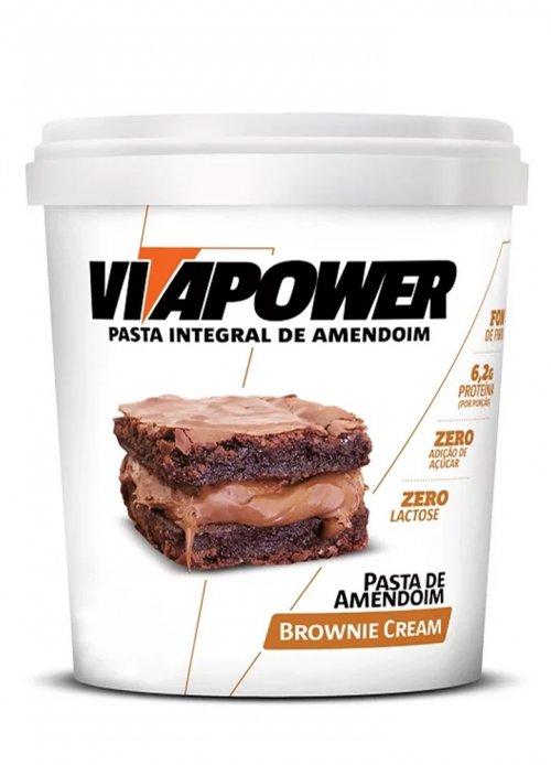 Pasta de Amendoim  Gourmet (1kg) - Vitapower