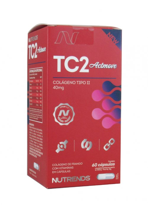 TC2 Actmove- Colágeno Tipo II -(60 Caps) - Nutrends
