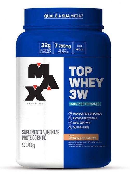 TOP WHEY 3W Max Titanium 900g