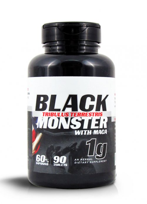 Tribulus Black Monster with Maca 1000 mg - 90 Tabletes
