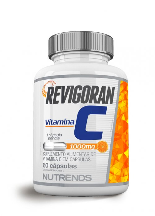 Vitamina C 1000mg - 60 caps  Nutrends