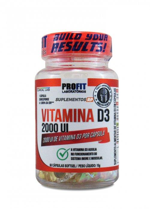 Vitamina D3 2000UI - 60 caps