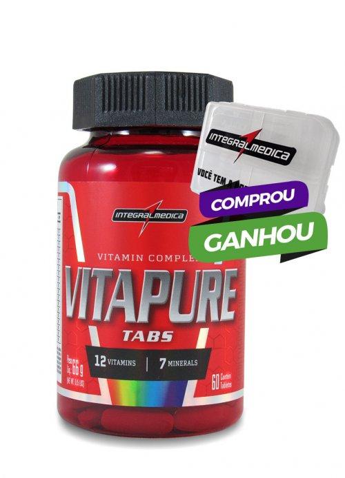 Vitapure - 60 Tabletes Multivitamínico Integralmédica