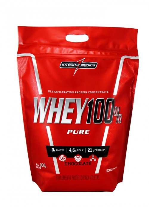 Whey 100% Pure (900g) IntegralMedica