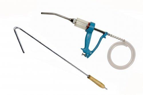 Aplicador oral Smartdose 30ml - Com gancho e magueira para vermífugo