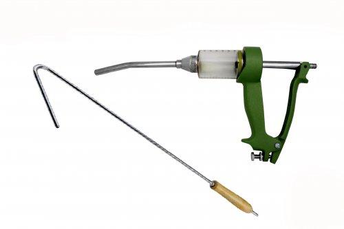 Aplicador oral Smartdose 60ml - Com gancho e magueira para vermífugo