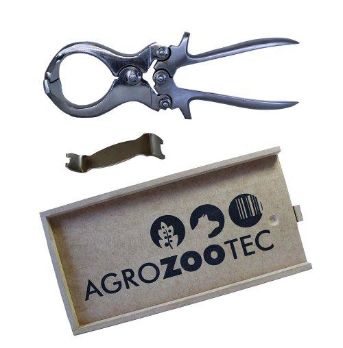 Burdizzo / Castrador para ovinos e caprinos tipo Burdizzo 23cm - Com estojo e chave