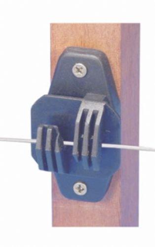 Isolador tipo W reforçado para Cerca Elétrica Rural - 25 unidades