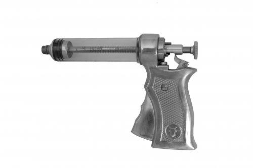 Pistola de vacinação 50ml metal POWER PRO 50 E+ Sem estojo