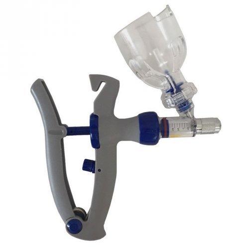 Vacinador com porta frasco / Aplicador ou dosador Proxi 2ml Regulagem de 0,5ml a 2ml