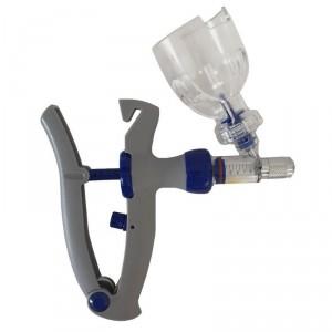 Vacinador com porta frasco / Aplicador ou dosador Proxi 5ml Regulagem de 1ml a 5ml
