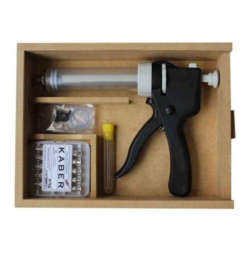 Seringa dosadora / Pistola de vacinação - Kit Revolvermatik 50ml