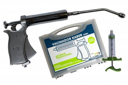 Kit Pistola de vacinação / seringa para vacinar gado com cânula