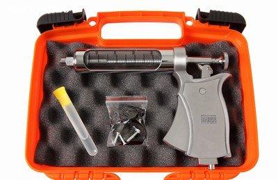 Pistola de vacinação / Estojo para vacinar gado - Kaber Vision com maleta