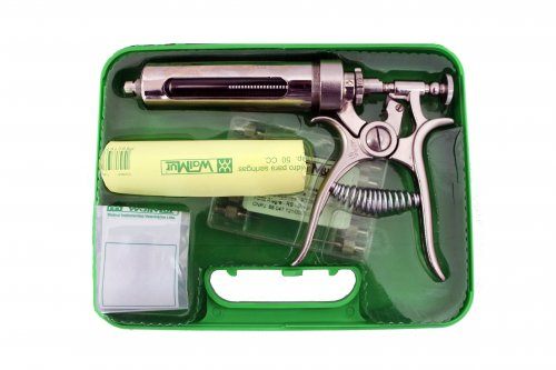 Seringa veterinária / Pistola de vacinação Walmur modelo 91